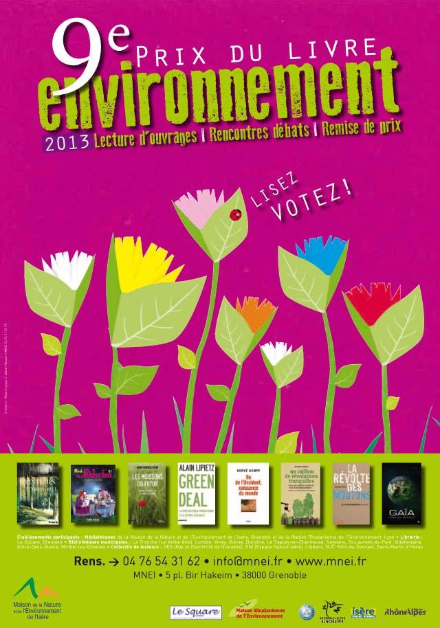 MNEI Prix du Livre Environnement 2013 - Affiche A3