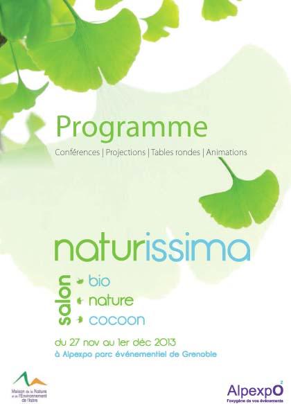 Naturissima programme culturel