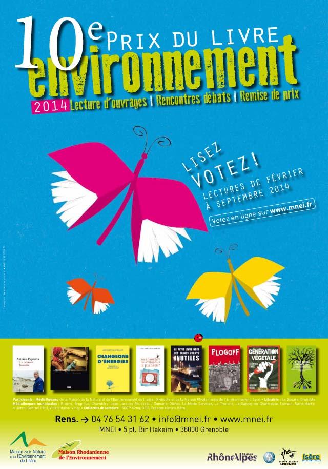 MNEI-MRE Prix du Livre Environnement 2014 - Affiche A3