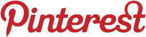Logo Pinterest rouge RessNum