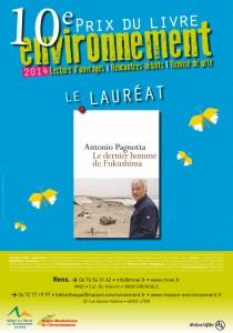 Prix du Livre Environnement 2014 MNEI MRE Antonio Pagnotta Le dernier homme de Fukushima