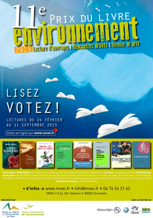 Prix du Livre Environnement 2015 - MNEI-MRE