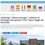 france3-alpes seme sauvage grainotheque