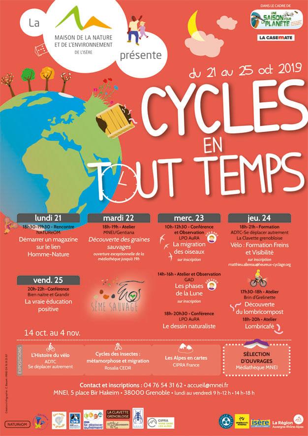 Programme de la semaine Cycles en tout temps